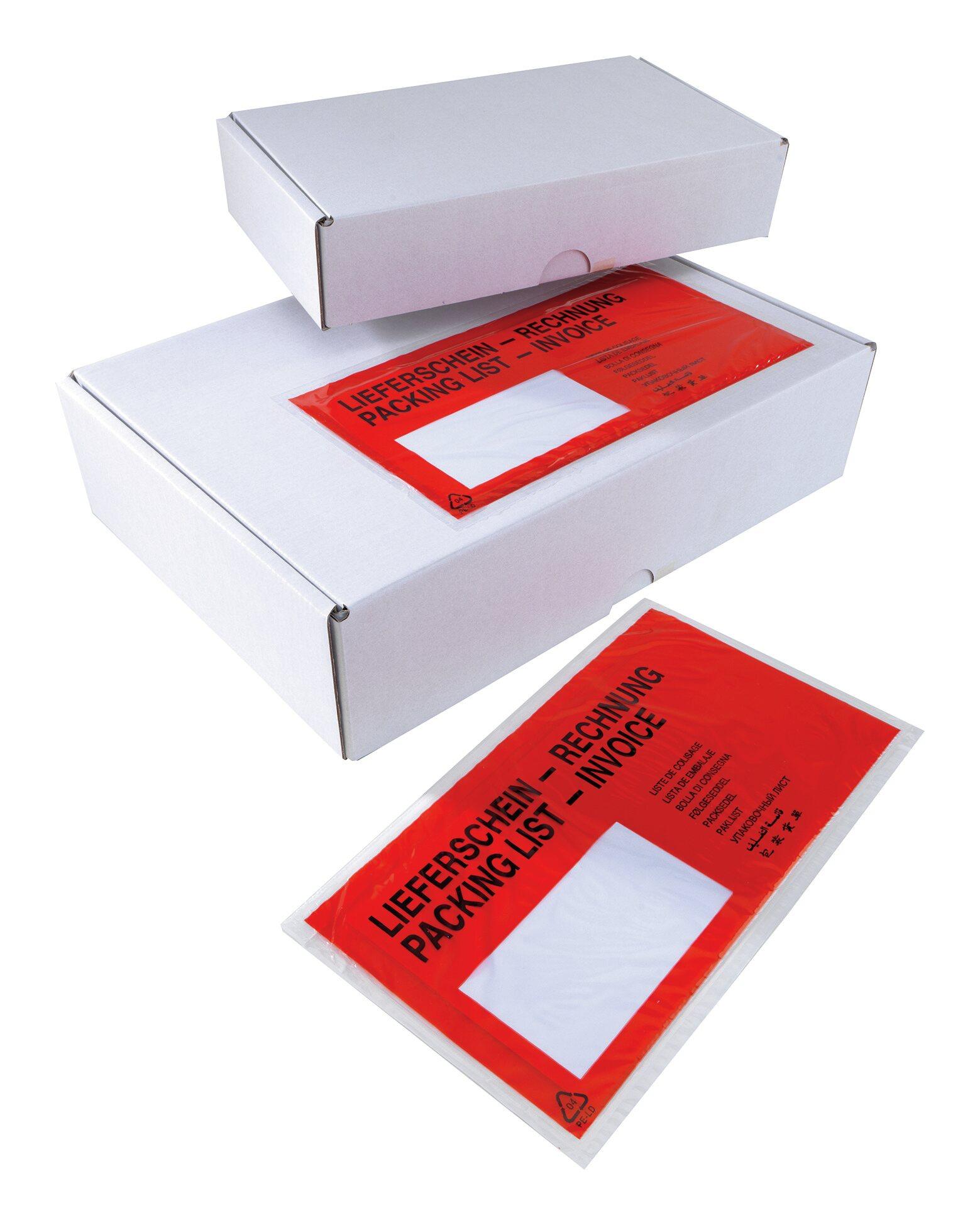 Selbstklebende Begleitpapiertasche DIN C5... 121032 (VPE: 1.000 Stück)