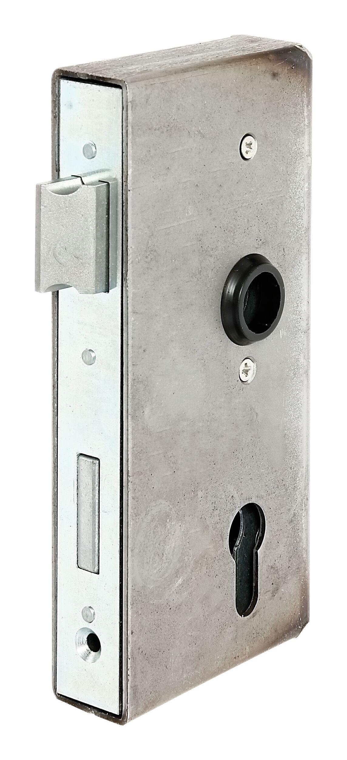 Dornma/ß 65mm Stulp: 22x280mm eckig DIN Rechts incl SN-TEC/® Montageset BKS Haust/ürschloss//T/ürschloss f/ür Profilzylinder Entfernung: 92mm