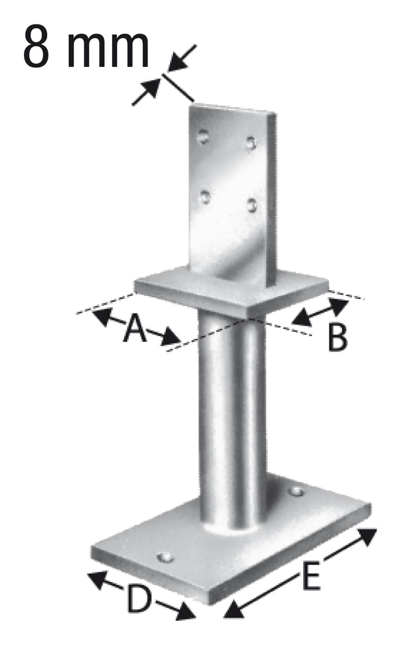 Simpson Strong Tie Stützenfuß PISB21G B SST