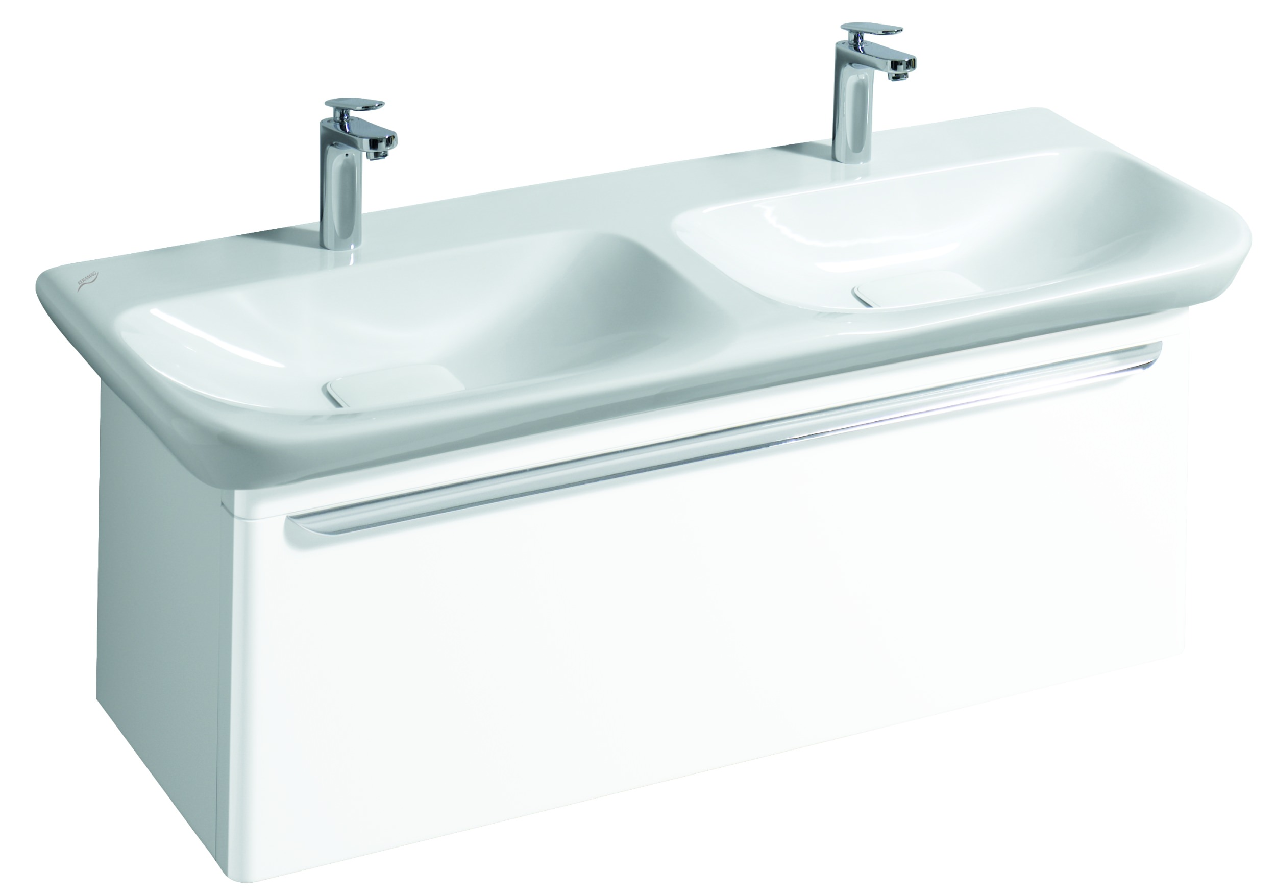 keramag myday waschtischunterschrank mit led 1160x410x405mm wei matt 824133000. Black Bedroom Furniture Sets. Home Design Ideas