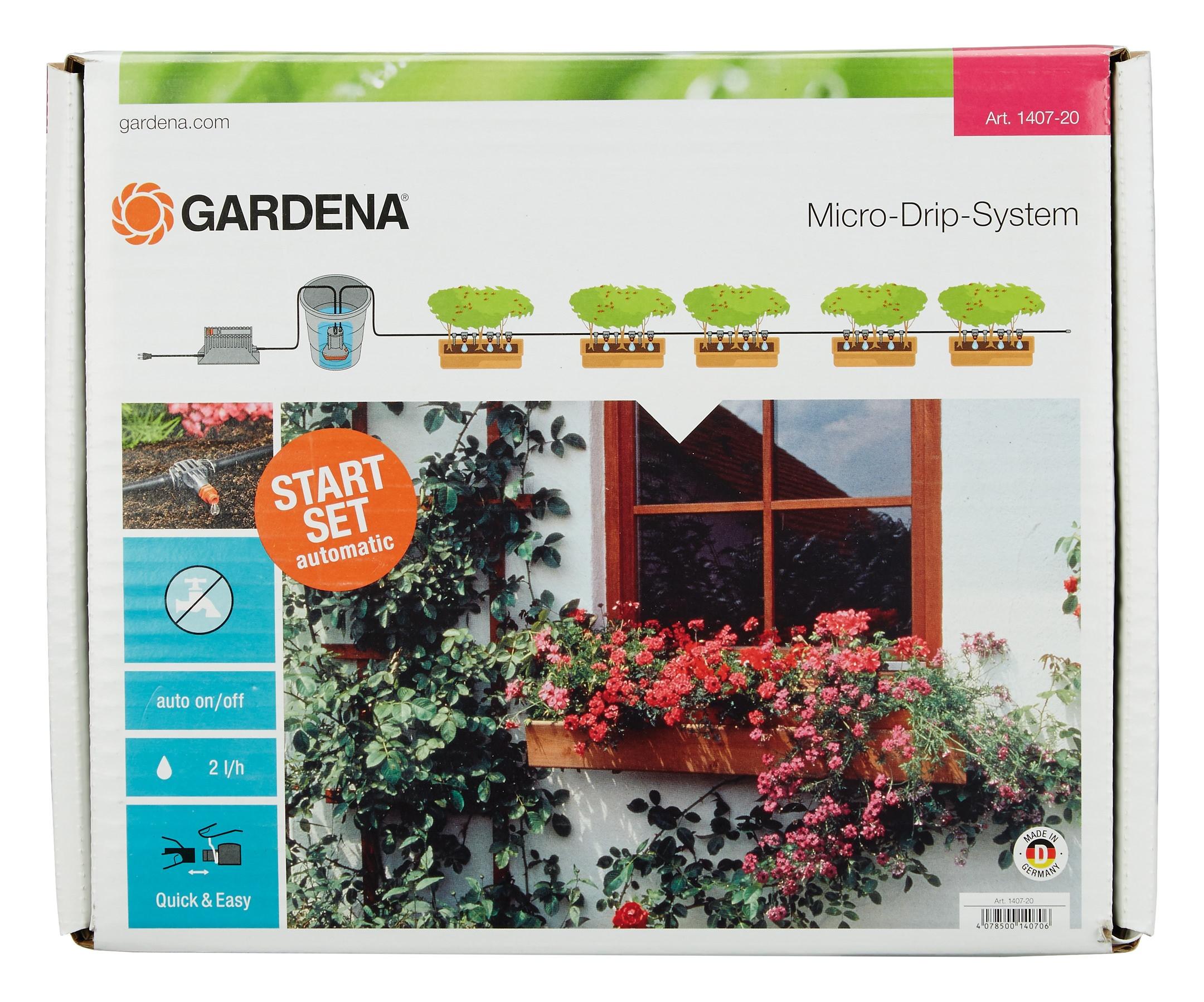 Gardena city gardening Vollautomatische Blumenkastenbewässerung - 01407-20
