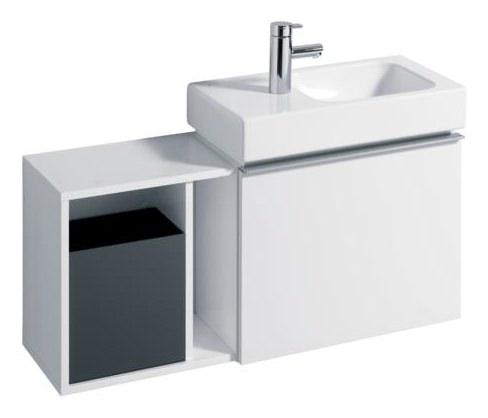 keramag icon xs seitenteil 370mm x 400mm x 273mm alpin. Black Bedroom Furniture Sets. Home Design Ideas