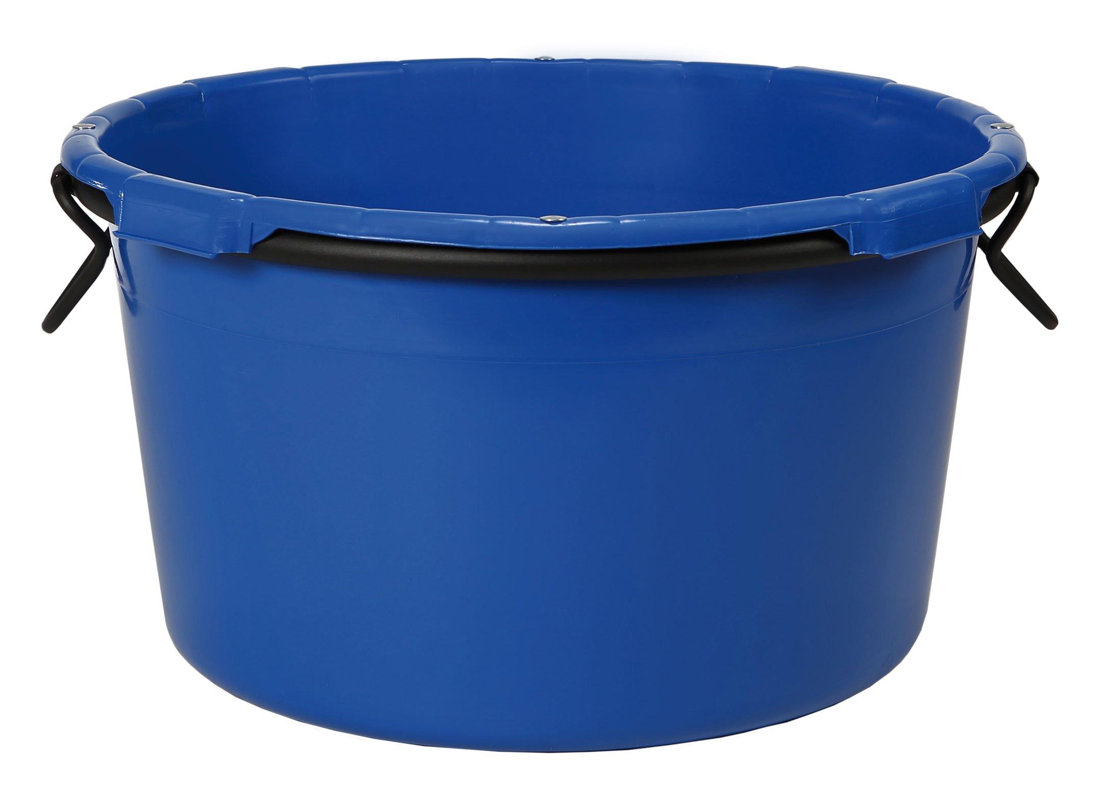 Mörtelkübel Inhalt 90l kranbar blau