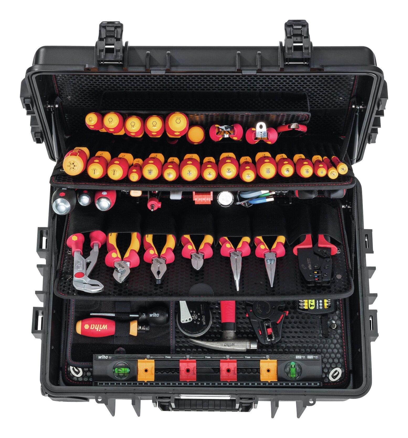 Wiha Werkzeugsatz Elektriker 115-teilig XXL II - 42069