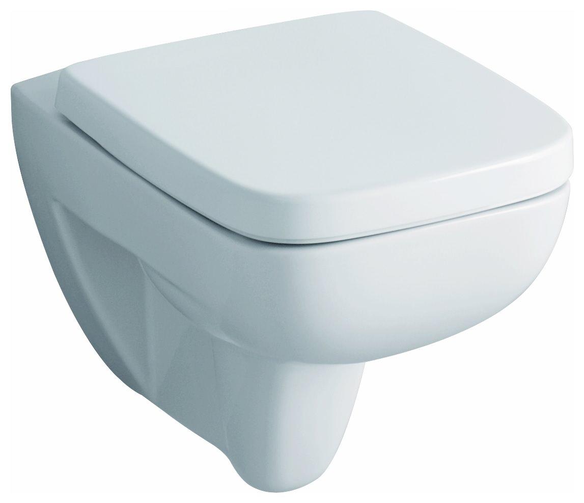 Keramag / Geberit Renova Nr.10 Plan WC Sitz mit Deckel   Weiß Alpin