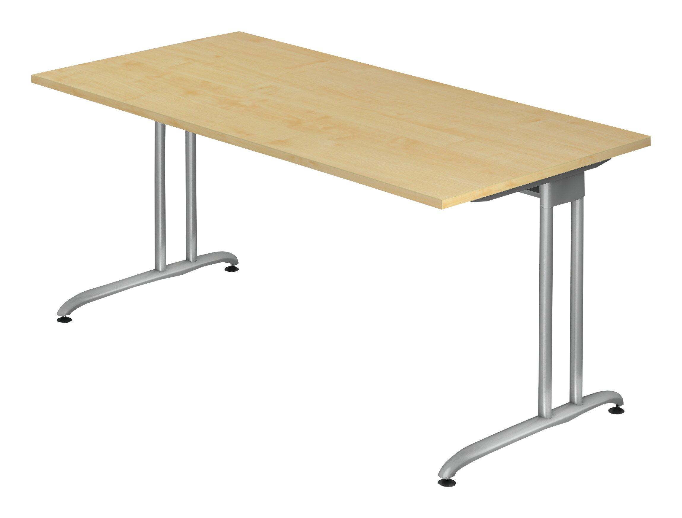 Schreibtisch Buche 1600x800 mm - BS 16/6