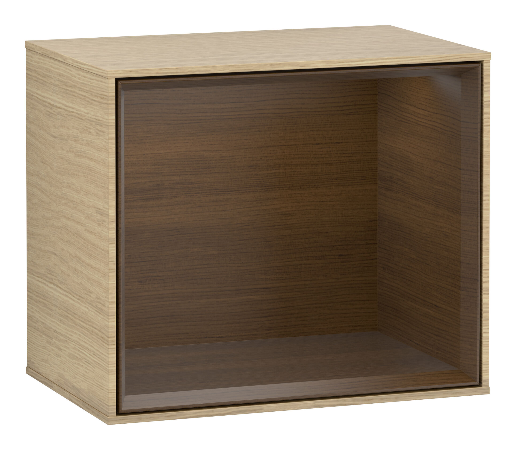 Villeroy & Boch Finion Regal 418 x 356 x 270 mm - Oak Veneer / Walnut Veneer - FD10GNPC