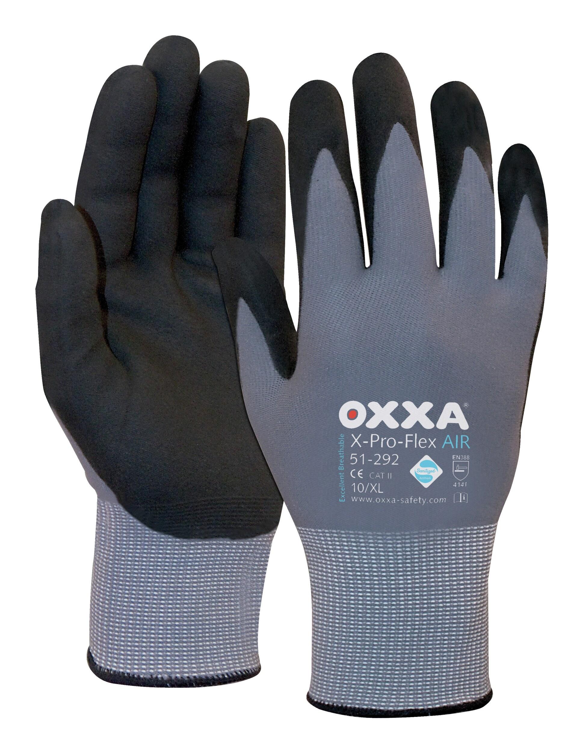 b07e888bd8a02d Oxxa Handschuh X-Pro-Flex AIR, Größe 8 - 1.51.292.08 (VPE: 12 Paar)