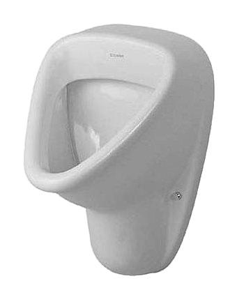 duravit katja urinal 330 x 345 mm mit zulauf von oben absaugend wei 0831320000. Black Bedroom Furniture Sets. Home Design Ideas