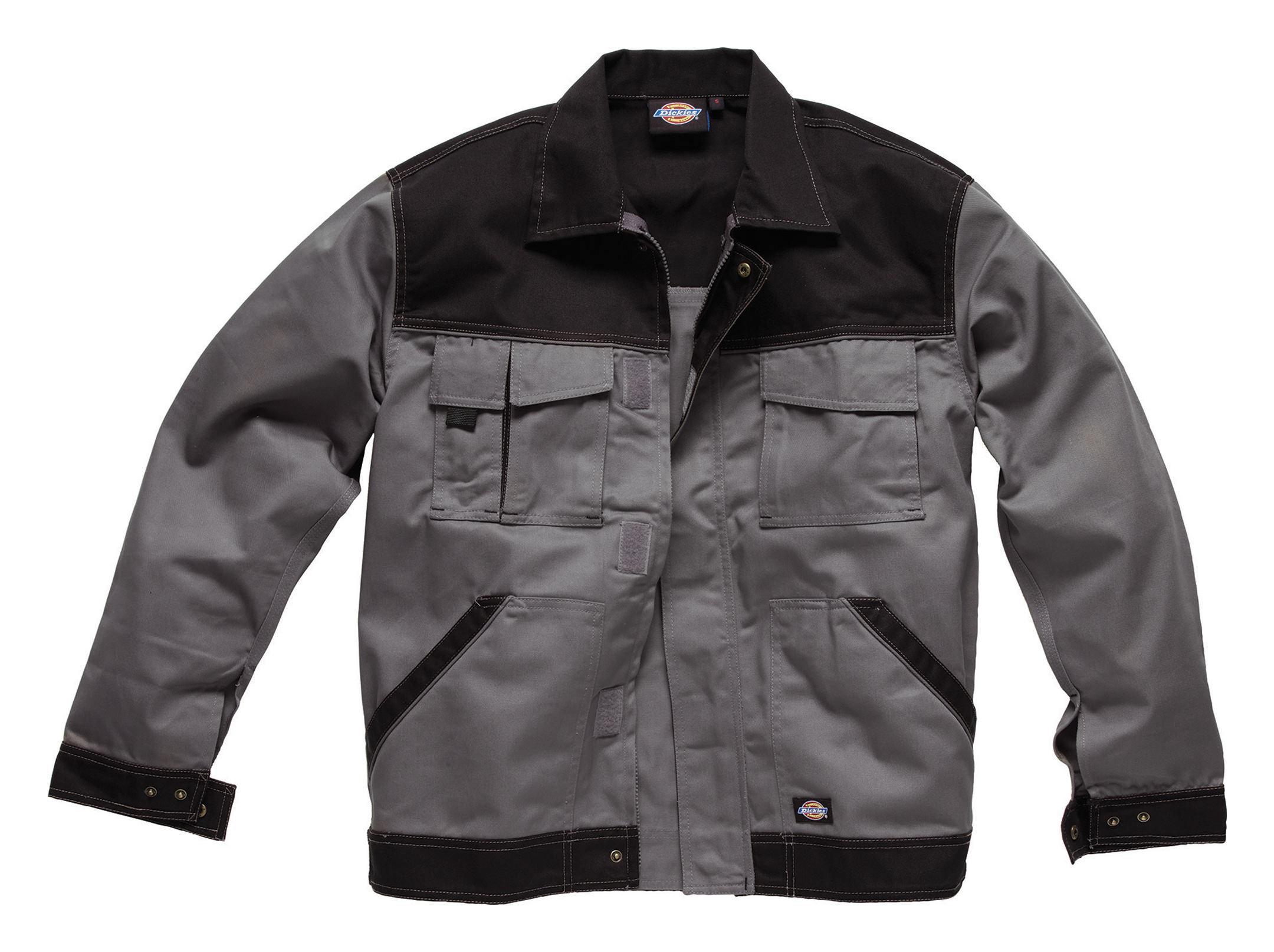 IN30050 GBK 54 Dickies Bermuda-Short Industry300 grau schwarz Größe 54