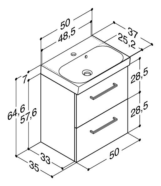 unterschr nke 50 cm tief machen sie den preisvergleich bei nextag. Black Bedroom Furniture Sets. Home Design Ideas