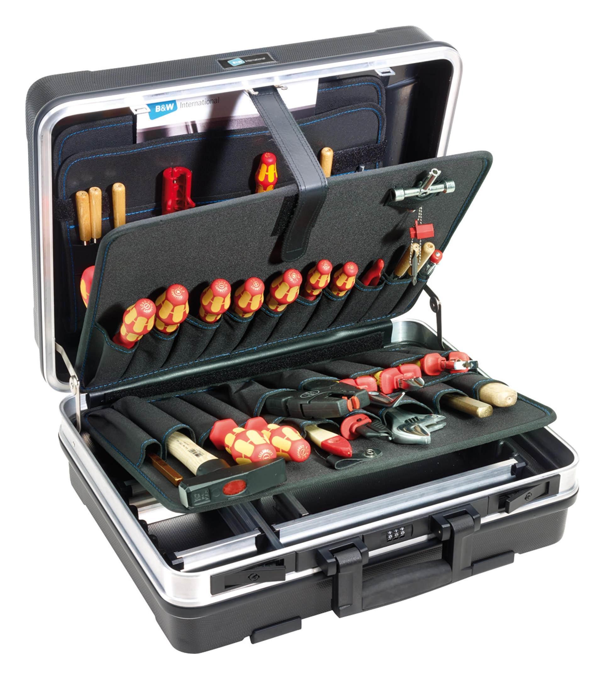 B & W Werkzeugkoffer base 460 x 170 x 355mm - 120.02/P