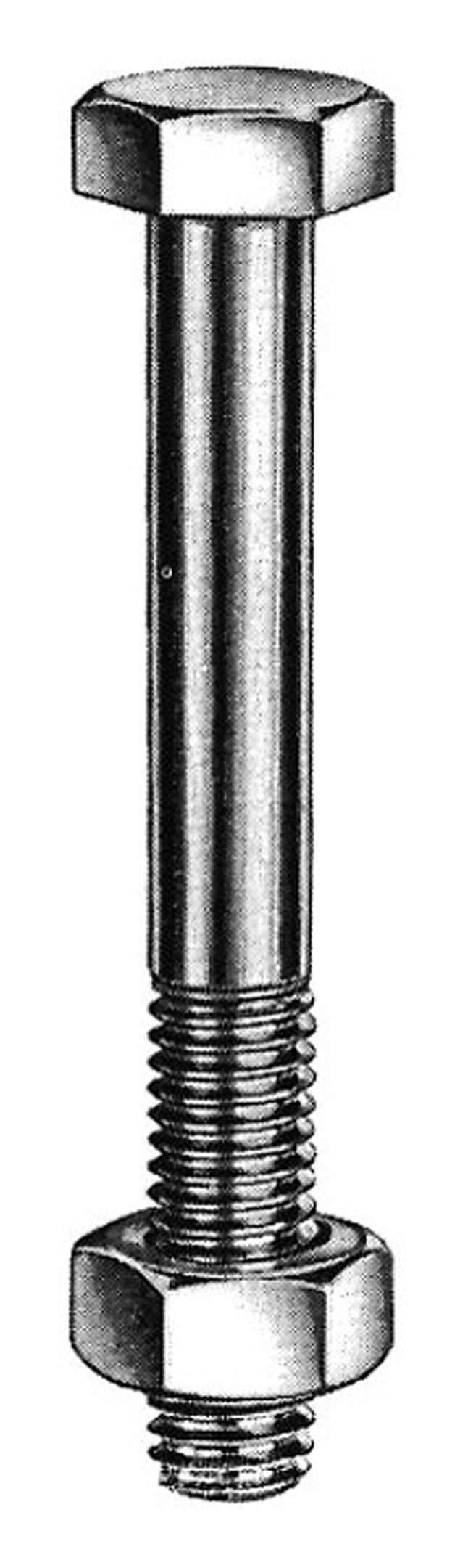 Schraube Bolzen Bauschraube M12 x 160mm mit Mutter