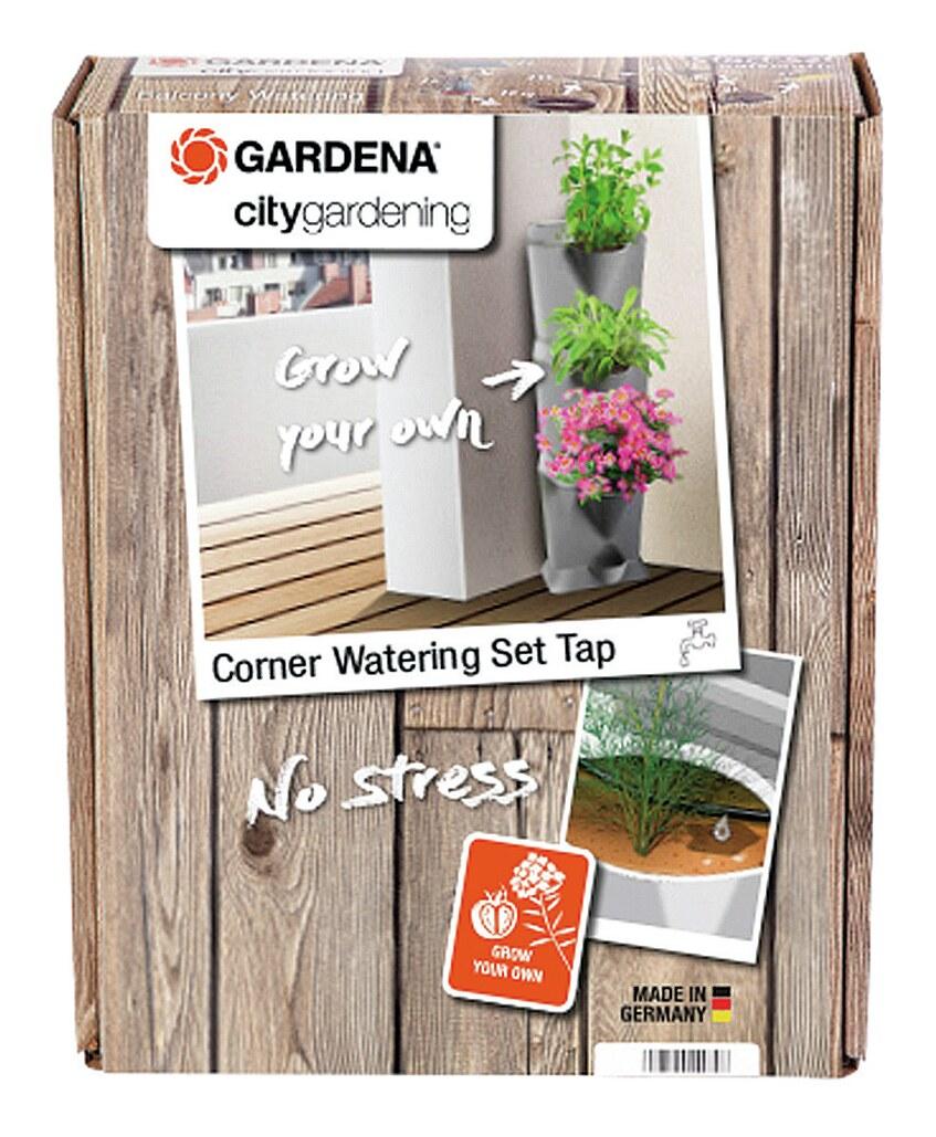 Gardena Bewässerungsset Ecke Wasserhahn - (VPE: 3 Stück)