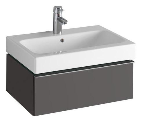 keramag icon waschtisch 600mm x 485mm wei alpin 124060000. Black Bedroom Furniture Sets. Home Design Ideas