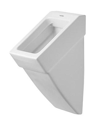 duravit vero urinal 295 x 320 mm mit zulauf von hinten absaugend schwarz 2800320800. Black Bedroom Furniture Sets. Home Design Ideas
