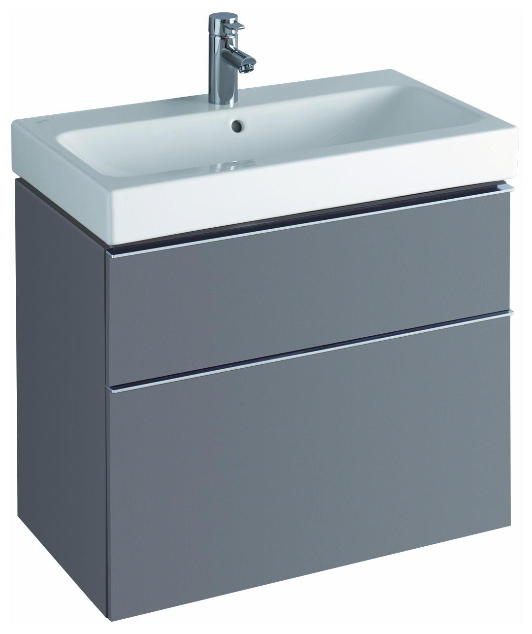keramag icon waschtisch 750mm x 485mm wei alpin. Black Bedroom Furniture Sets. Home Design Ideas