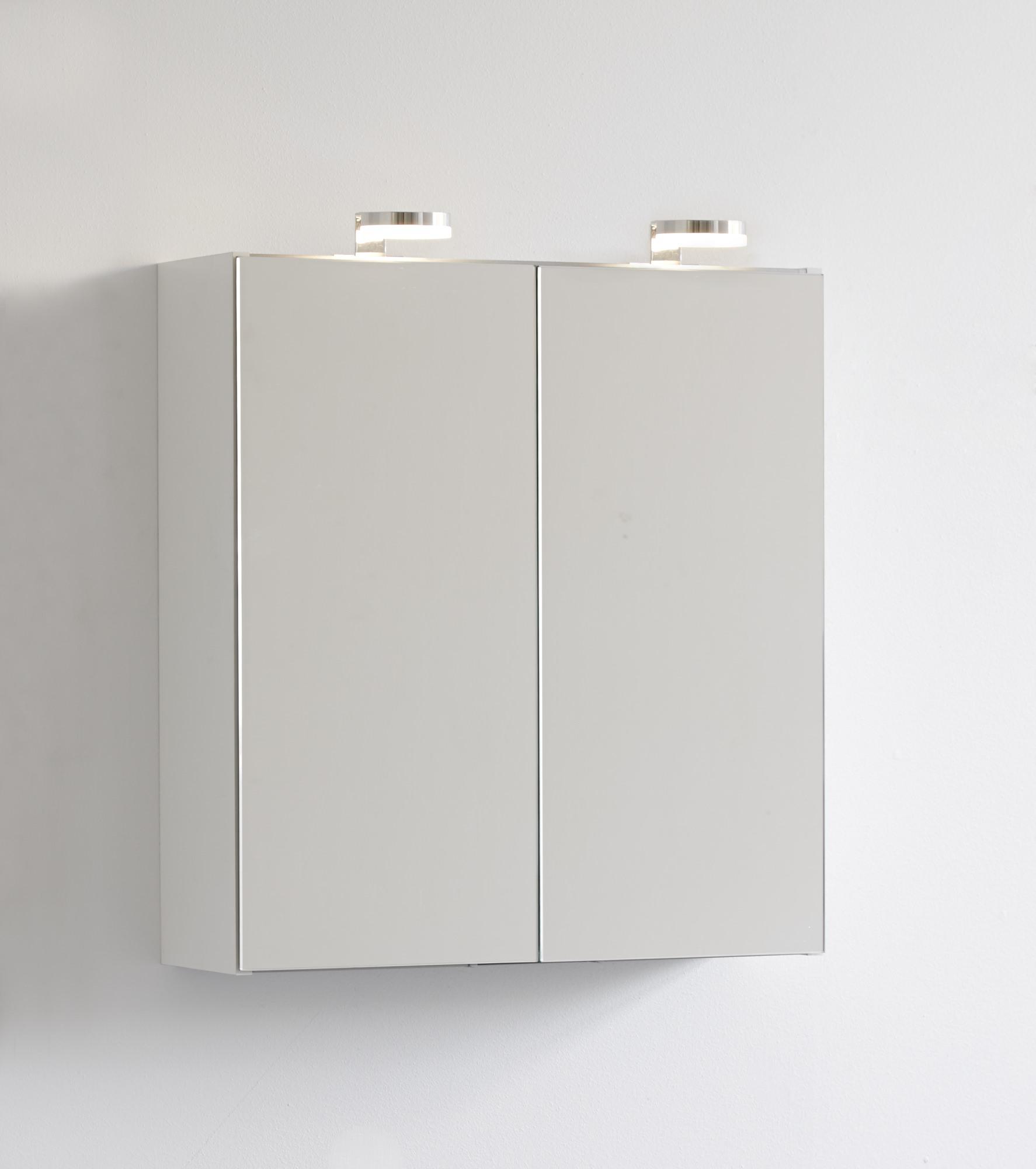 Scanbad Multo Spiegelschrank Ohne Beleuchtung 60cm X 64cm Weiß