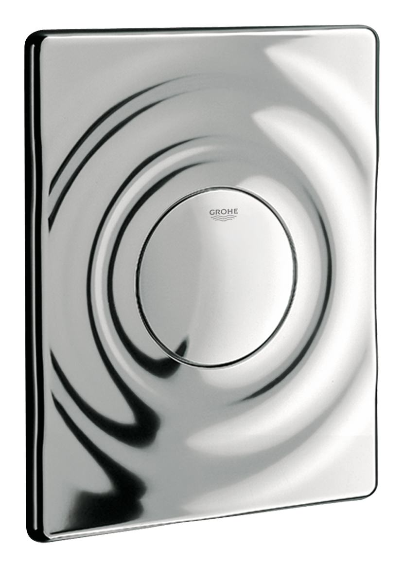 grohe surf abdeckplatte f r wc drucksp ler alpinwei 37063sh0. Black Bedroom Furniture Sets. Home Design Ideas