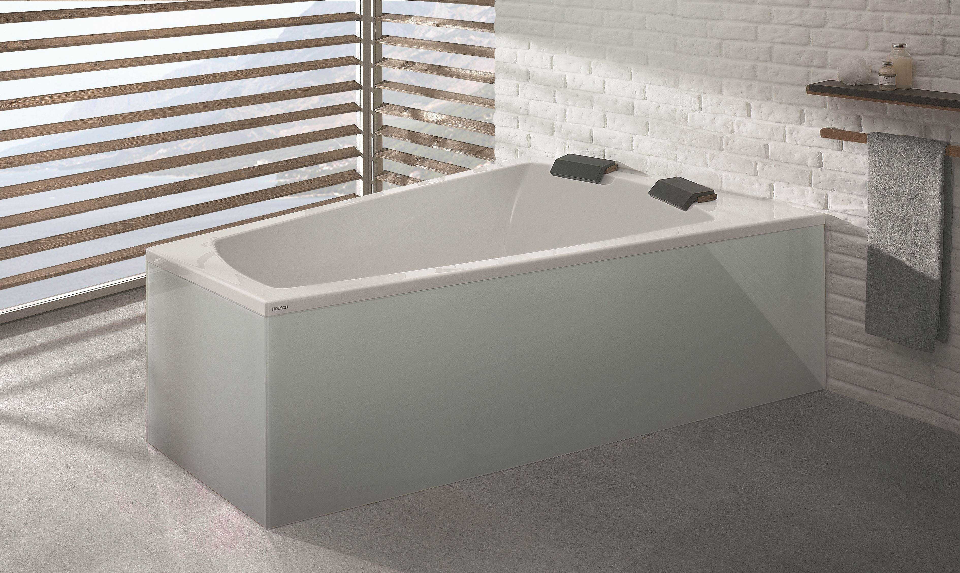 hoesch largo trapezbadewanne 1800 x 1400 mm rechts wei. Black Bedroom Furniture Sets. Home Design Ideas