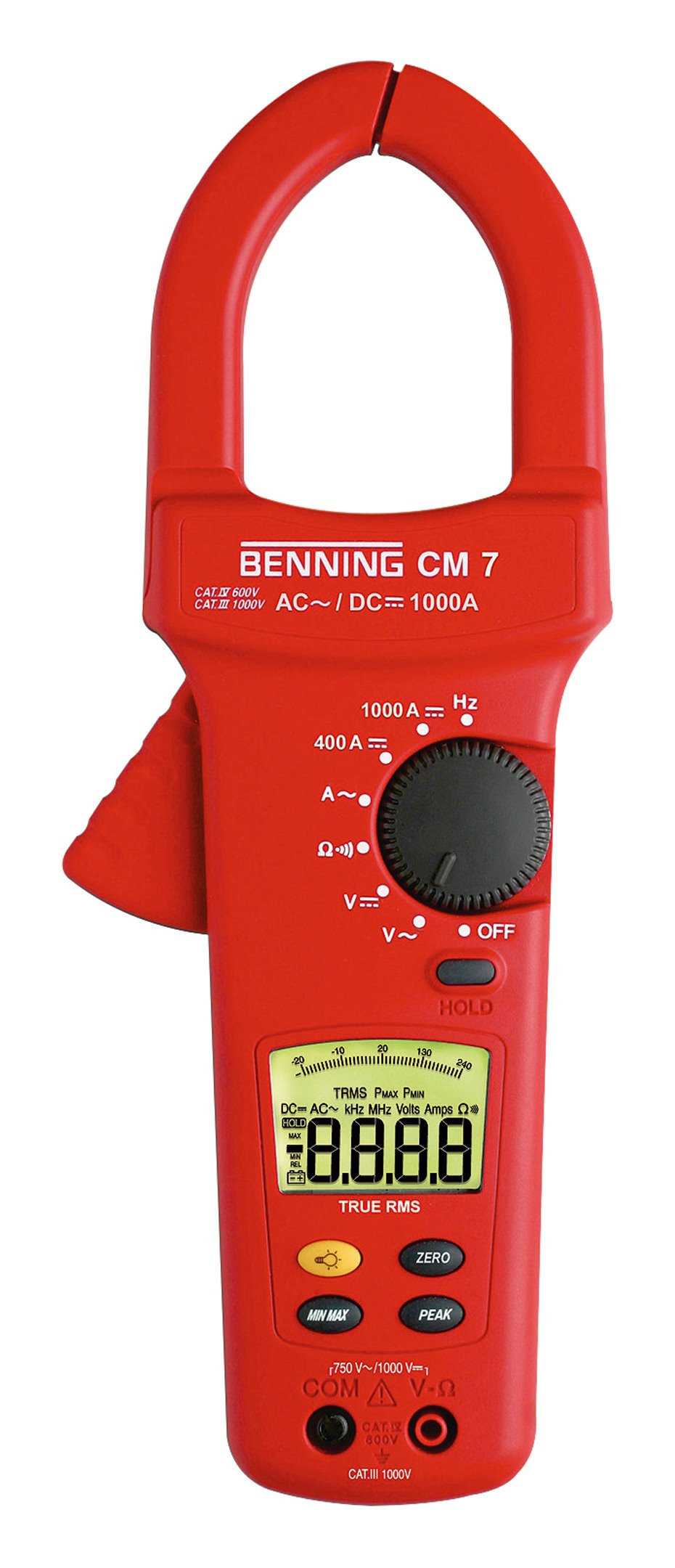 Benning Digital-Stromzähler-Multimeter CM 7 - 044059