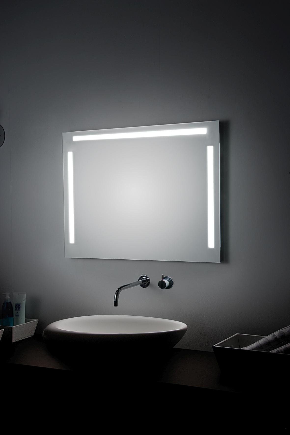 koh i noor tre luci t5 spiegel mit ober und seitenbeleuchtung 1200 x 800 mm 45922. Black Bedroom Furniture Sets. Home Design Ideas
