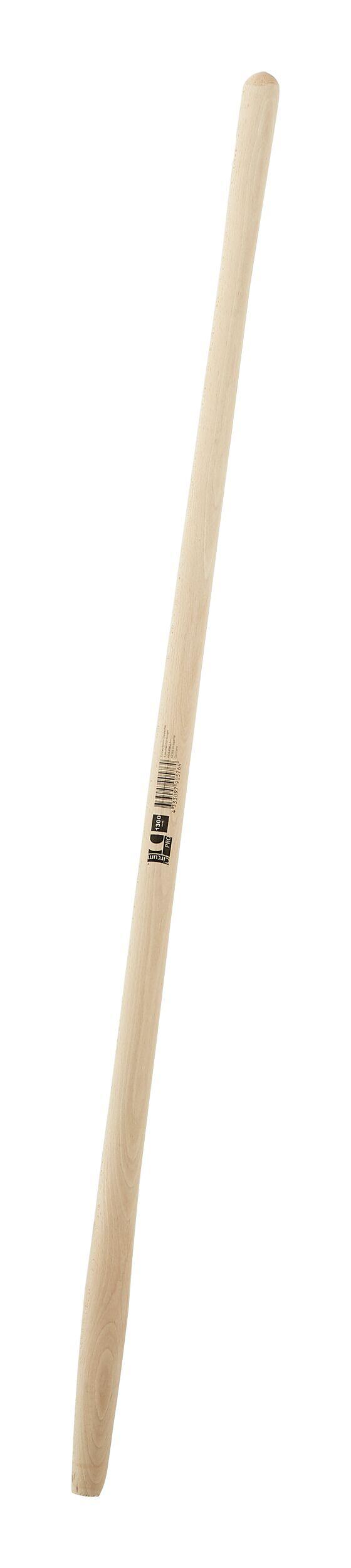 Schaufelstiel 130cm Ersatzstiel Gabelstiel Esche gebogen Holzstiel 1300mm Stiel