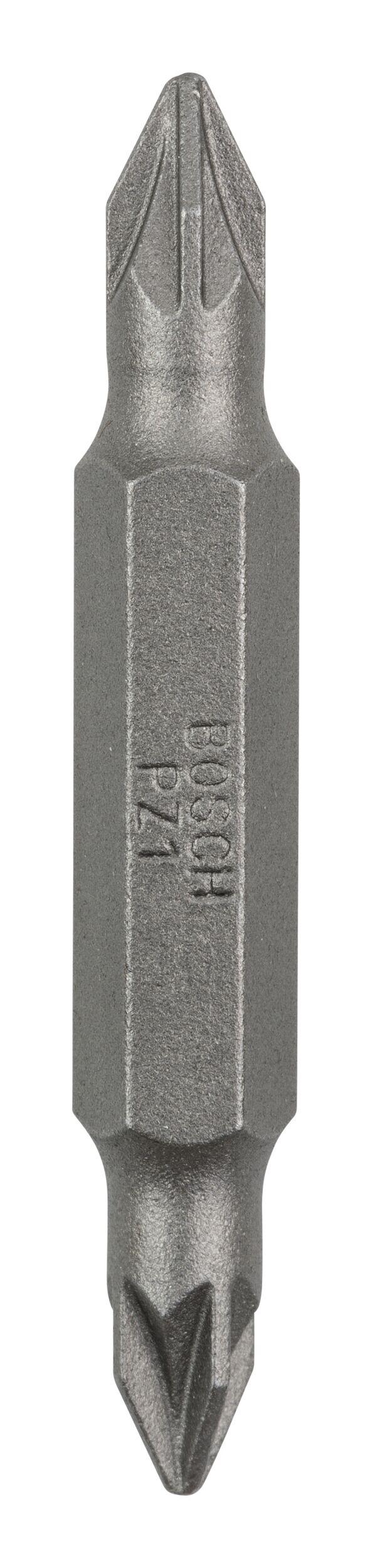 Bosch Zubehör Doppelklingenbit PZ1, PZ1, 45 mm - 2607001741 (VPE: 10 Stück)
