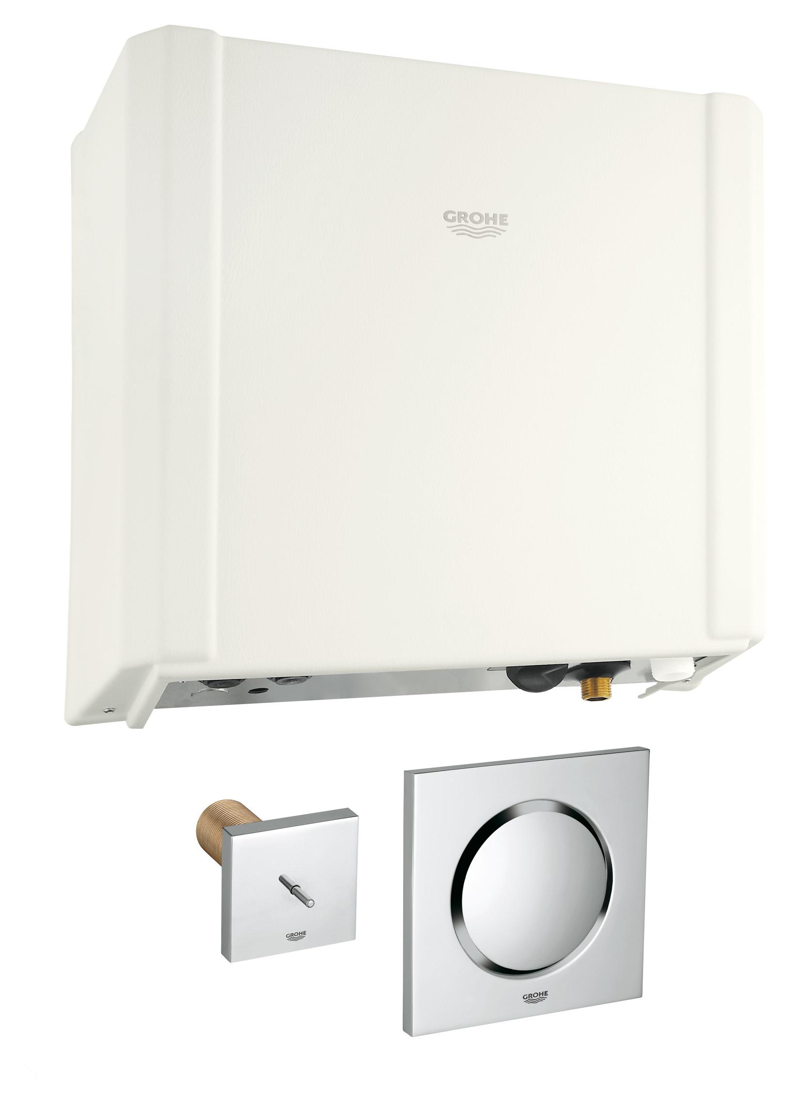 grohe f digital deluxe dampfgenerator mit dampfauslass und temperaturf hler 27934000. Black Bedroom Furniture Sets. Home Design Ideas