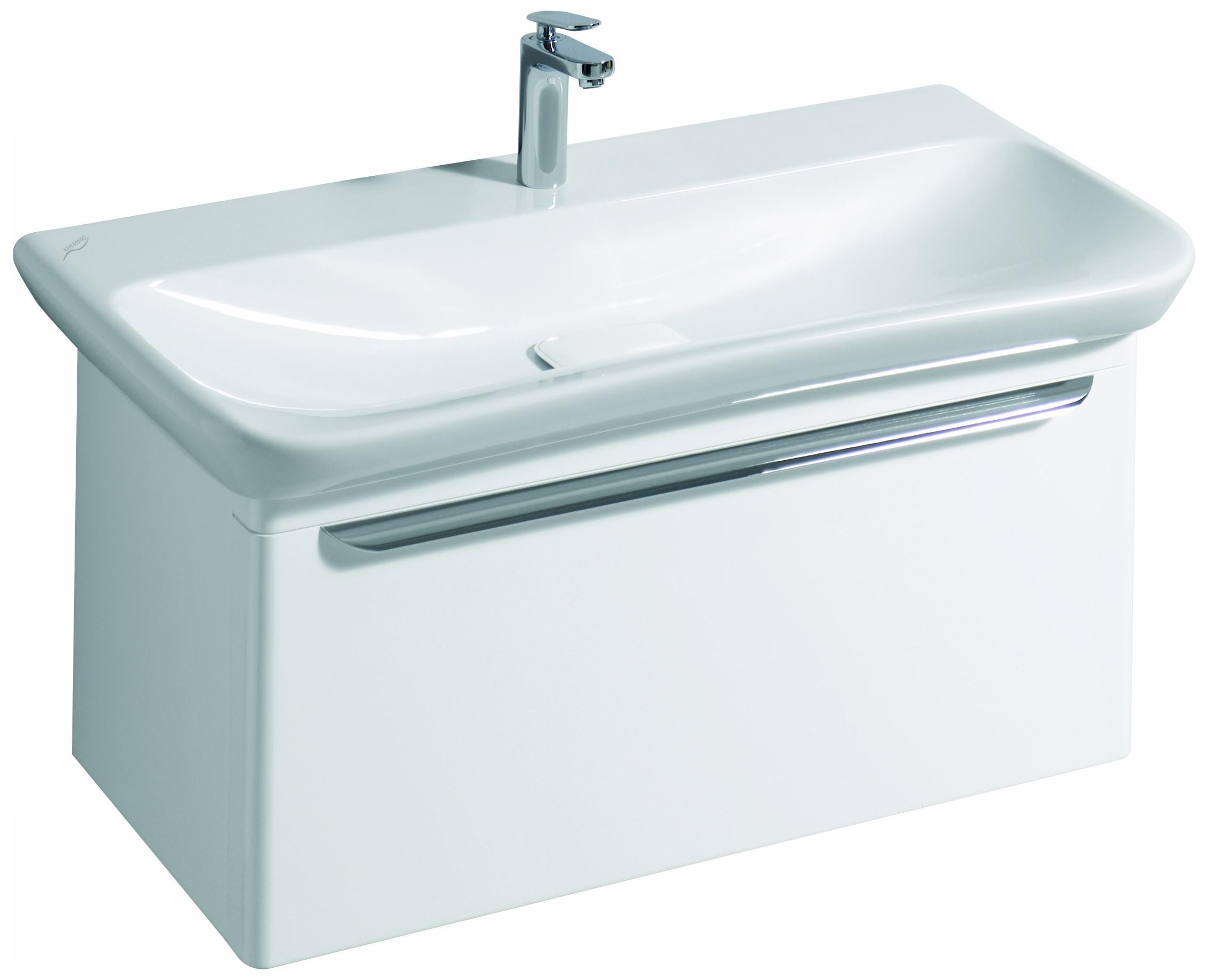 keramag myday waschtisch ohne berlauf 1000mm x 135x480mm wei alpin keratect waschtische. Black Bedroom Furniture Sets. Home Design Ideas