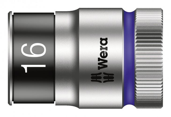 Wera 2019 Freisteller Steckschluessel-Einsatz-1-2-16mm-6kt-Haltef