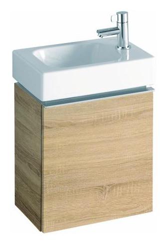 keramag icon xs handwaschbecken 320mm x 280mm rechts wei alpin 124736000. Black Bedroom Furniture Sets. Home Design Ideas