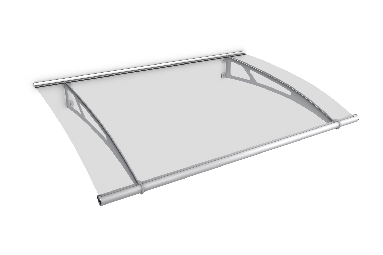 gutta pt xl pultvordach 2050 x 1420 mm acrylglas klar edelstahl matt 7311403. Black Bedroom Furniture Sets. Home Design Ideas