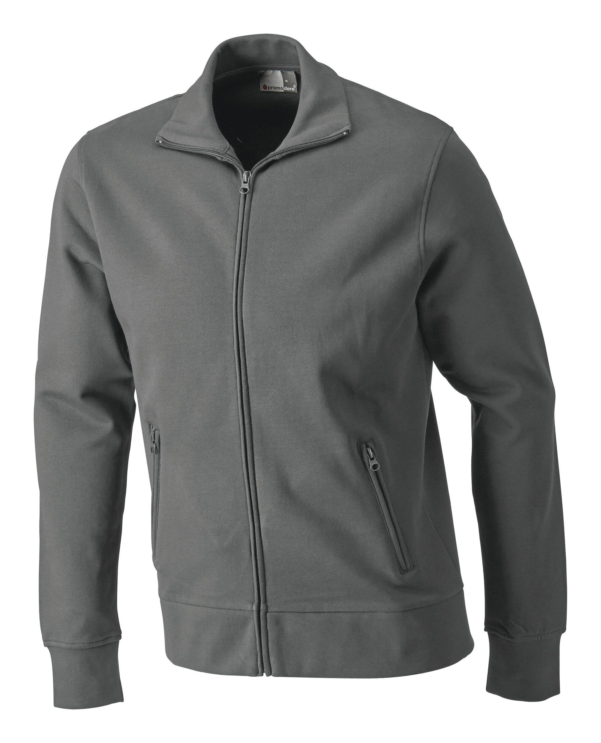 Sweatshirtjacke, Größe 2XL steelgrey - 5290F-SG-XXL