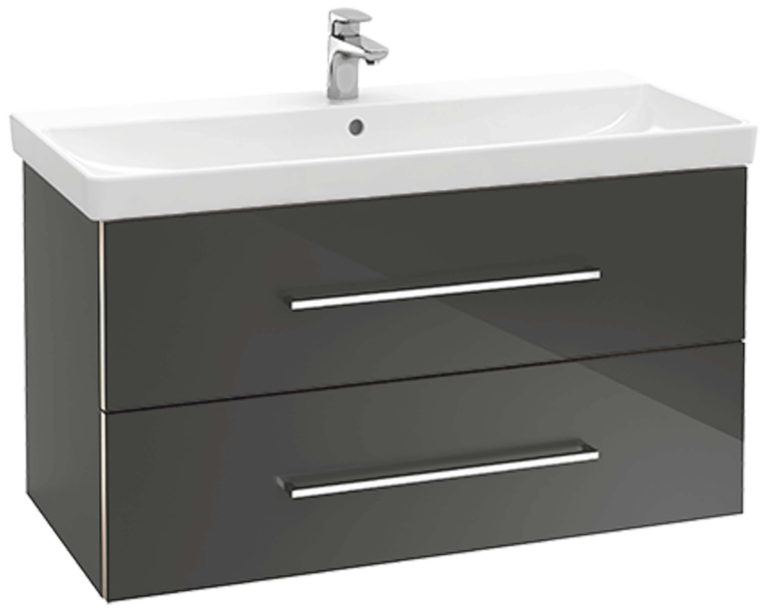 villeroy boch avento waschtischunterschrank 760 x 520 x 447 mm crystal white a89100b4. Black Bedroom Furniture Sets. Home Design Ideas