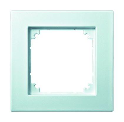 merten rahmen 1fach polarwei matt kunststoff thermoplast 486119. Black Bedroom Furniture Sets. Home Design Ideas