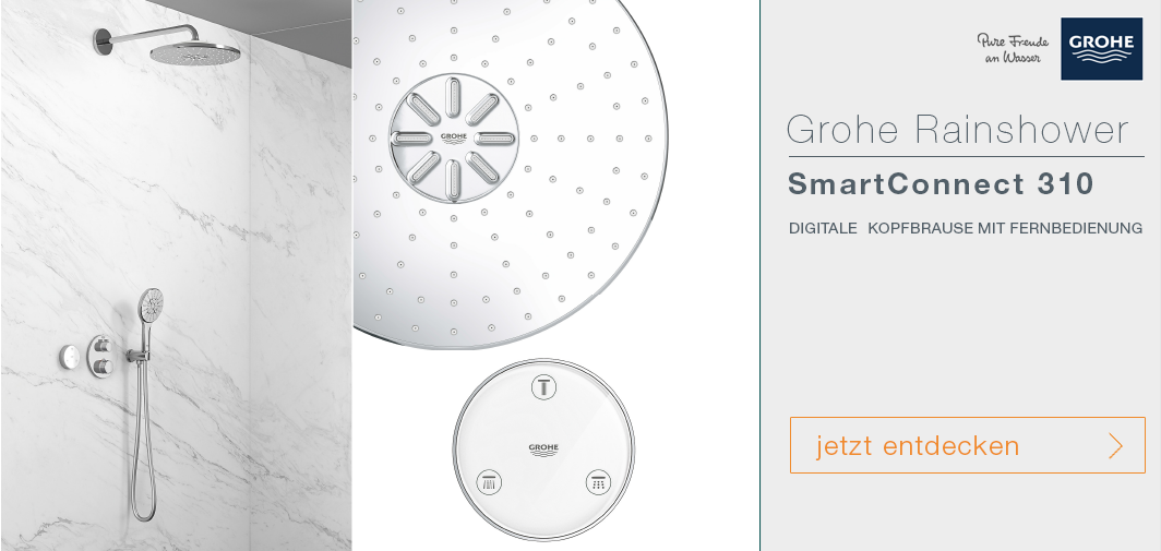 Grohe SmartConnect Kopfbrausen