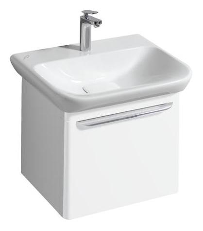 keramag myday waschtisch ohne berlauf 600mm x 135x480mm wei alpin keratect 125460600. Black Bedroom Furniture Sets. Home Design Ideas