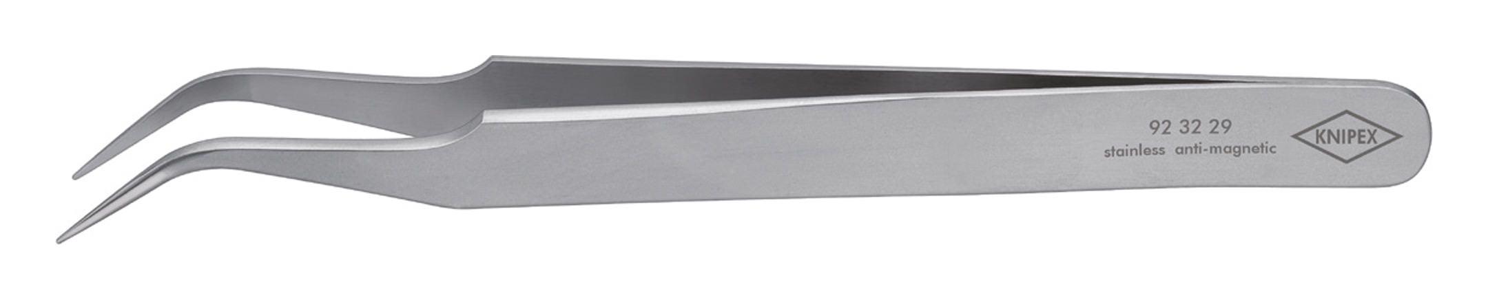 Knipex Präzisions-Pinzette Sichelform 120mm rostfrei - 92 32 29