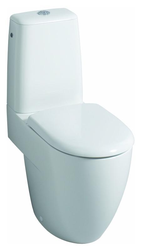 keramag 4u wc sitz mit deckel wei alpin 574400000. Black Bedroom Furniture Sets. Home Design Ideas