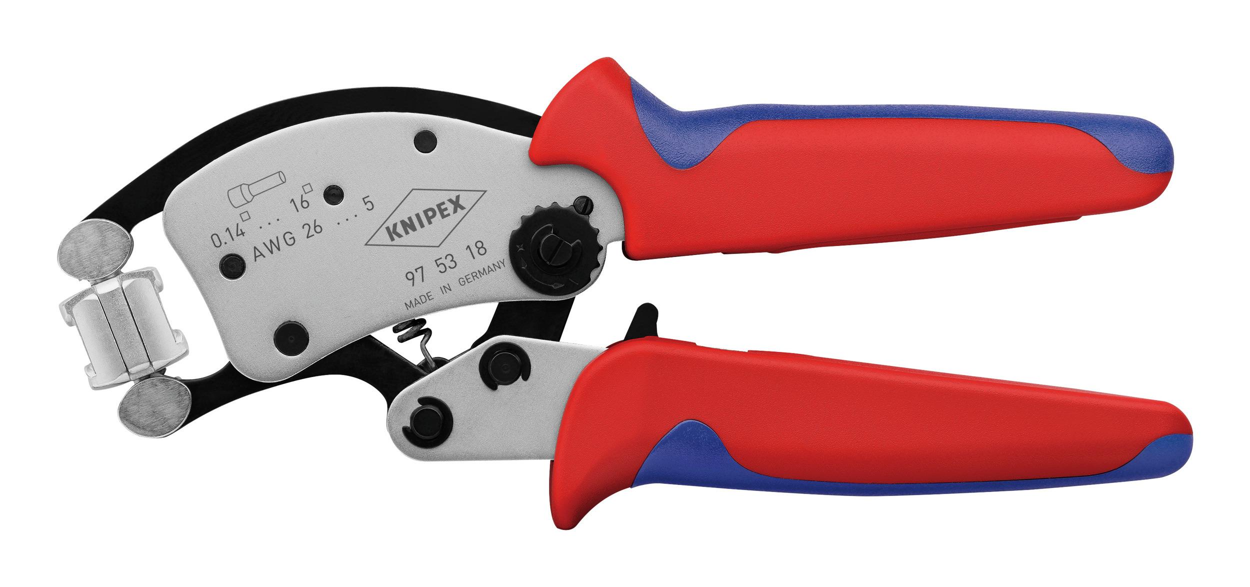 Crimpzange für Aderendhülsen 0,14-16 mm 2 Twistor - 97 53 18