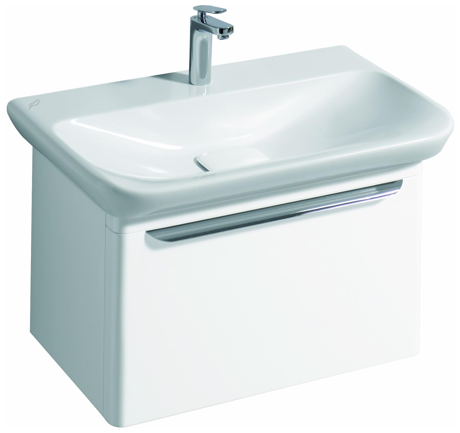 keramag myday waschtisch ohne berlauf 800mm x 135x480mm wei alpin keratect waschtische. Black Bedroom Furniture Sets. Home Design Ideas