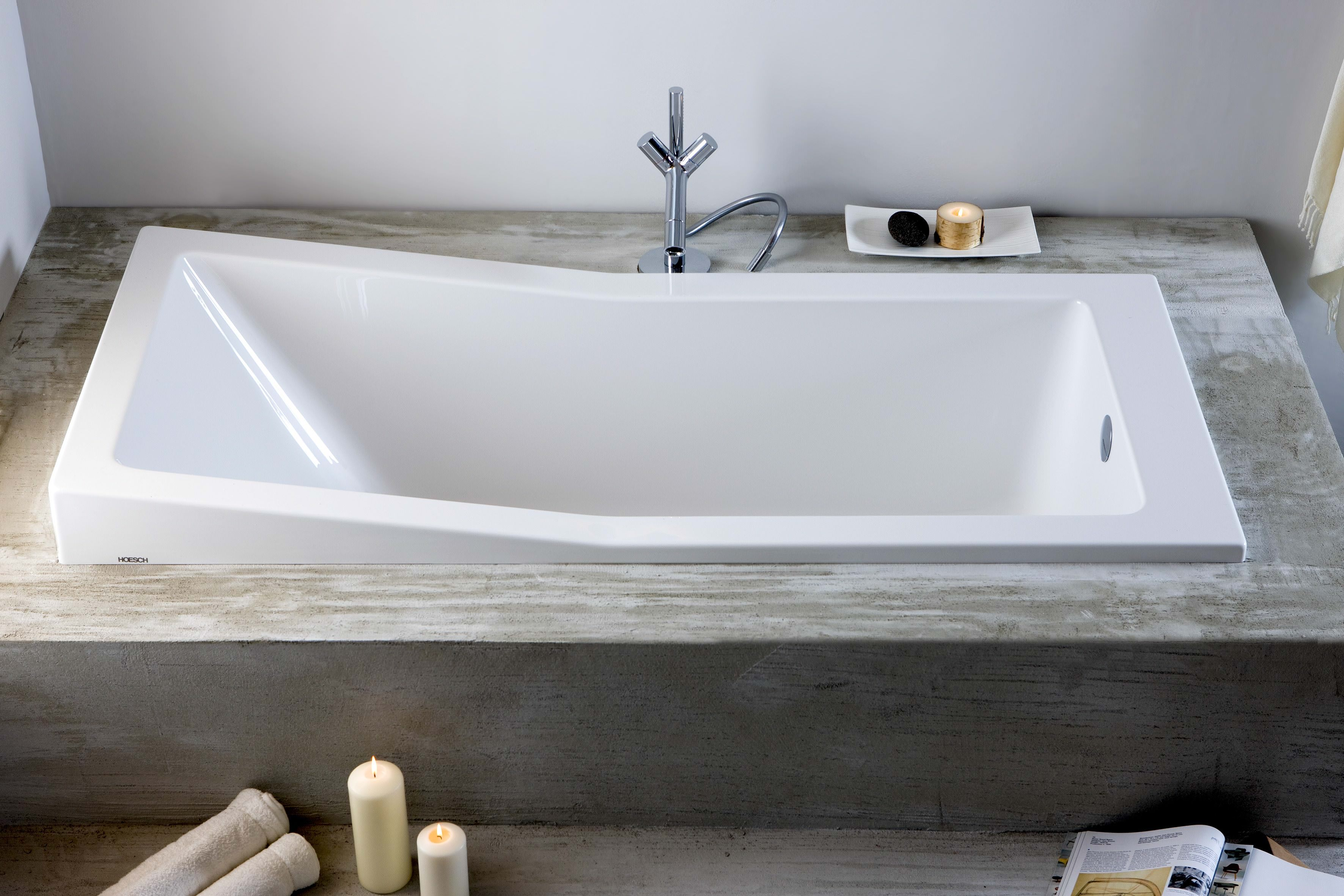 hoesch foster rechteckbadewanne 1700 x 700 mm einsitzer wei. Black Bedroom Furniture Sets. Home Design Ideas