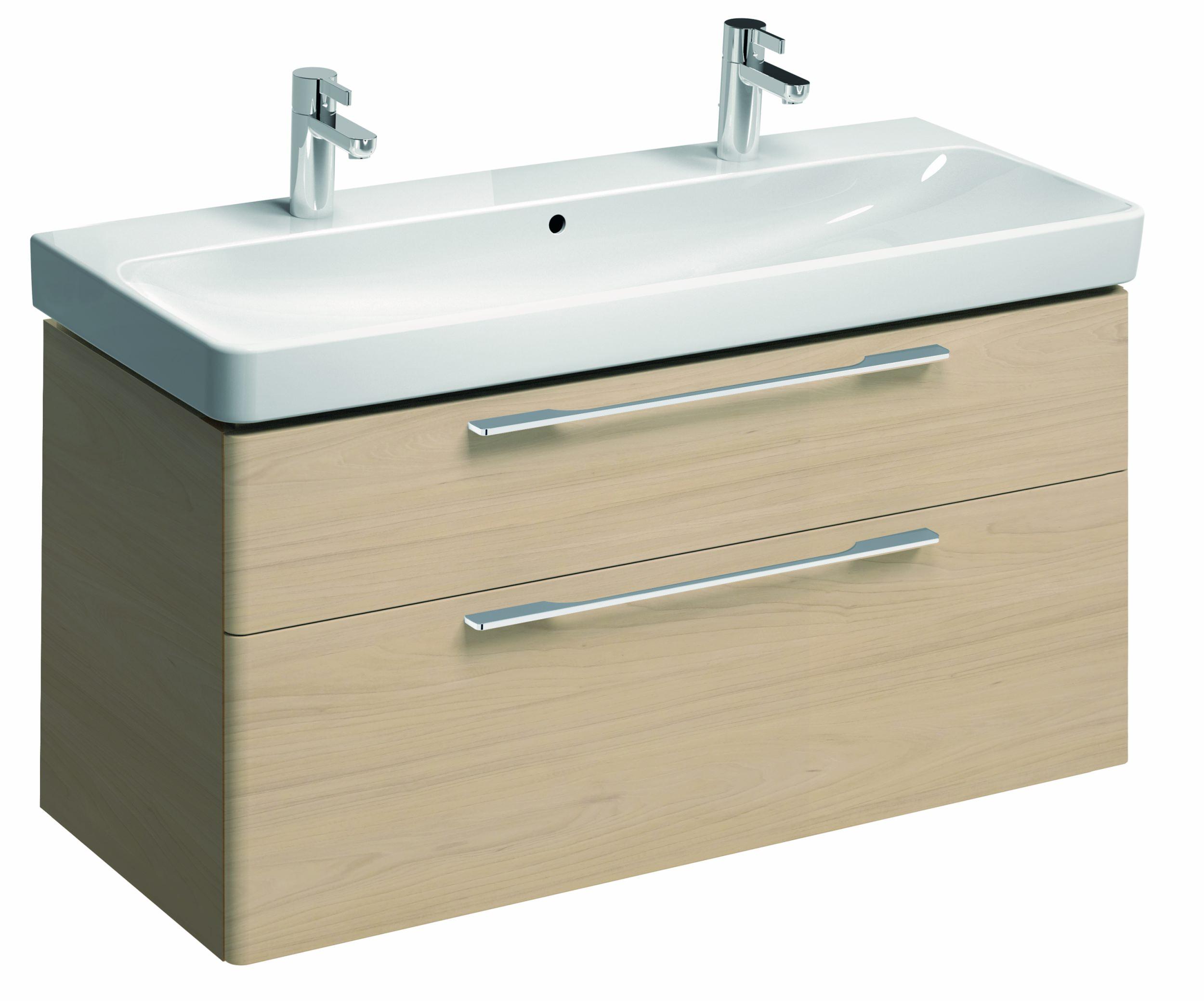 keramag smyle waschtischunterschrank 1168x625x461mm ulme hell 805123000. Black Bedroom Furniture Sets. Home Design Ideas