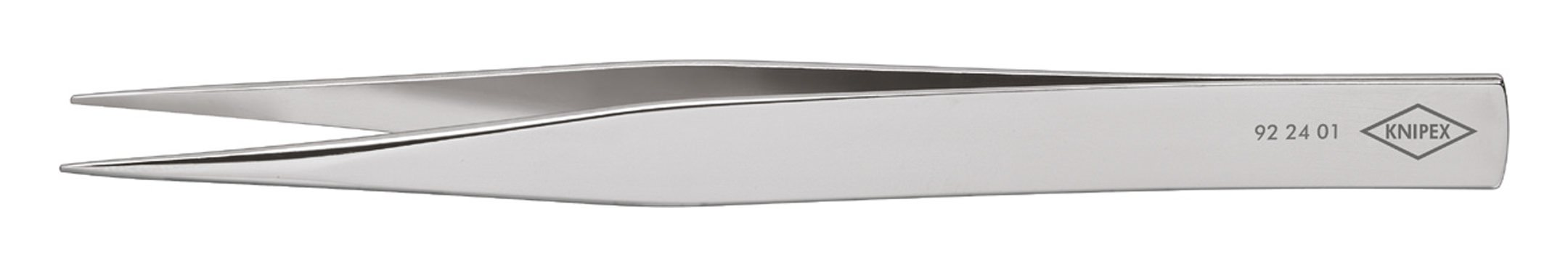 Knipex Präzisions-Pinzette spitz 120mm poliert - 92 24 01
