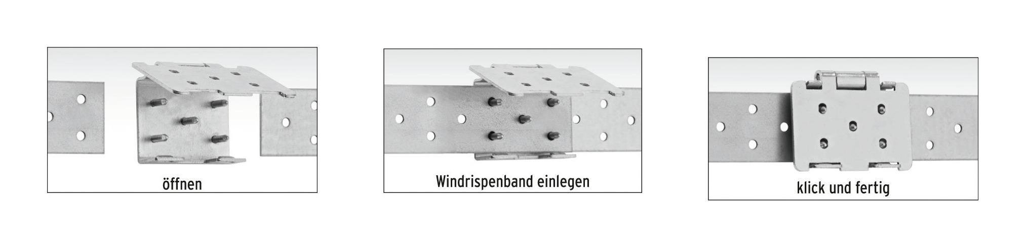 GH-Baubeschläge GH Baubeschläge Clip-Fix Set Typ 60 - 1109562