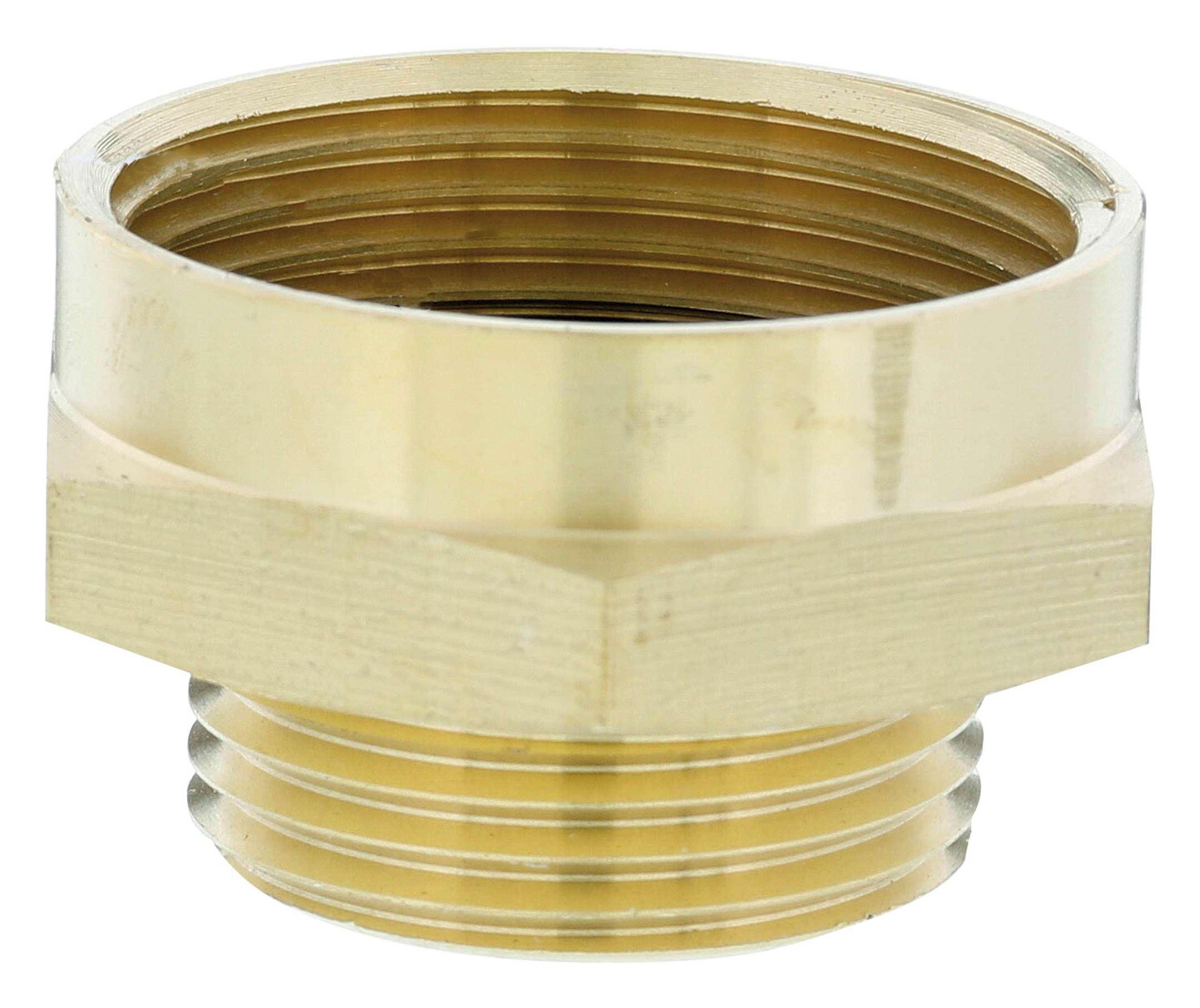 GARDENA Reduzier-Messing-Gewindenippel AG 33,3mm IG 42mm 07266-20