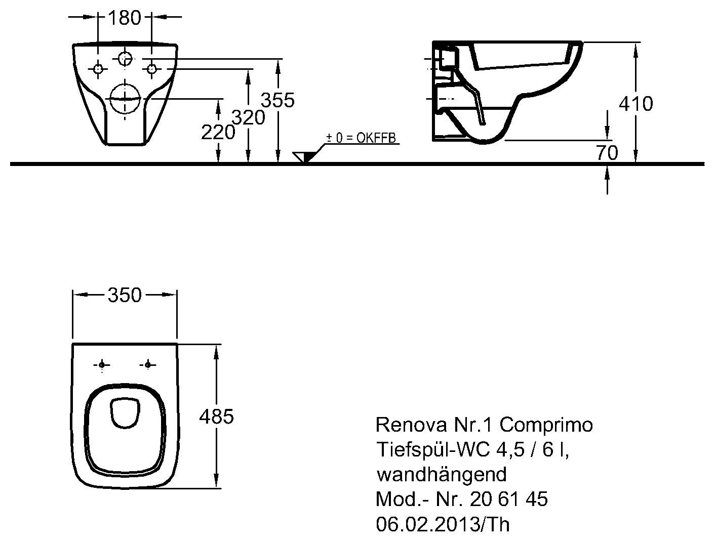 keramag renova nr 1 comprimo tiefsp l wc wandh ngend. Black Bedroom Furniture Sets. Home Design Ideas