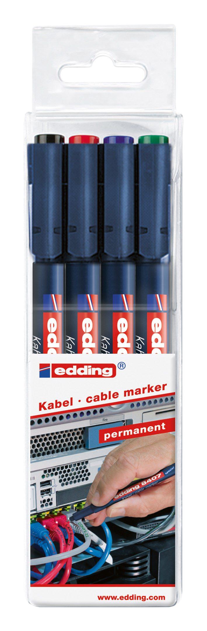 5 Stück Edding 950 Industrie Pasten Marker weiß Rundspitze ca 10mm NEU