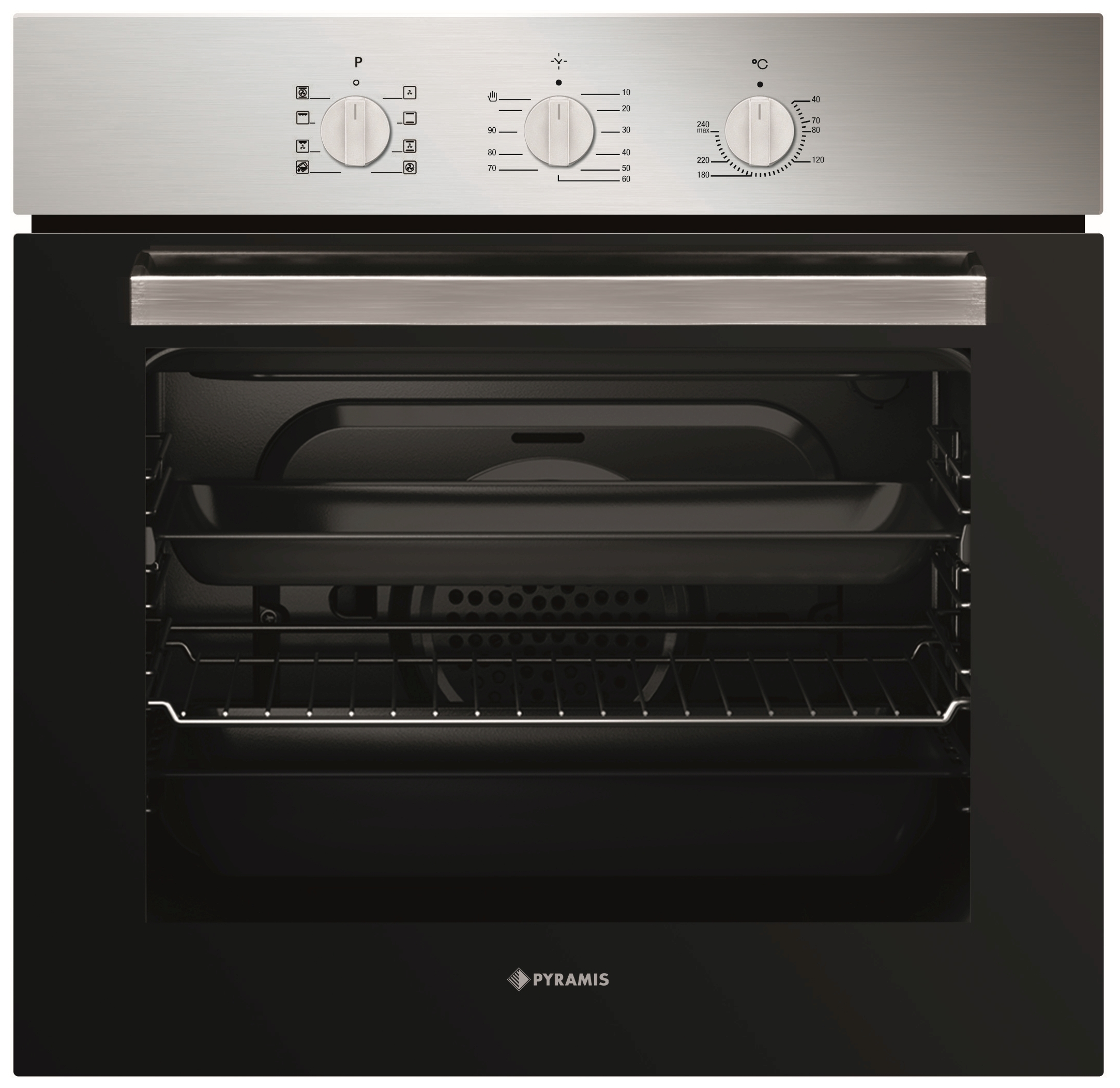 Backofen 60In 1220 inox Backofen - 34003601